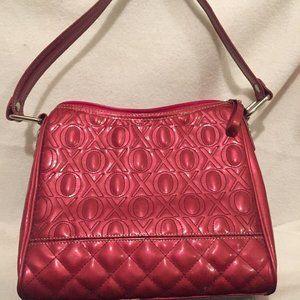 XOXO Purse Handbag Stitched Embroidered